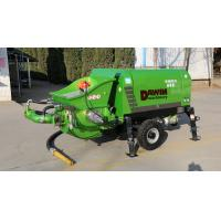 China 56kw Diesel Engine Wet Concrete Spraying Pump Concrete Delivery Pump All in One Machine wholesale