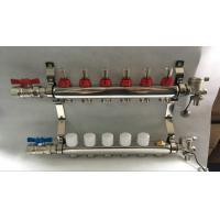 China 6 loop radiant Floor Heating Manifold for Floor Heating Systems & Parts wholesale