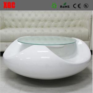 China Brief Style Fiberglass Coffee Table Living Room Tea Table Fiberglass End Table wholesale