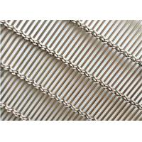Buy cheap Stainless Steel Decorative Wire Mesh , Decorative Metal Mesh Cladding As from wholesalers