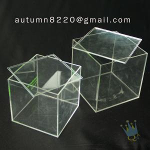 China BO (50) acrylic body jewelry display case wholesale