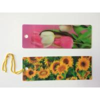 China Custom 0.6 mm PET 3D Lenticular Bookmarks With Two Sides CMYK Printing ISO wholesale