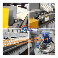 Quality Low Noise Plate And Frame Filter Press Dewatering Machine For Aluminum Oxide for sale