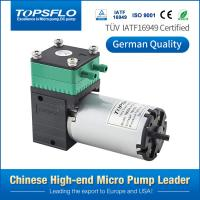 China Electric dc brushed diaphragm 6v 12v 24v vacuum air pump for home dialysis machine on sale