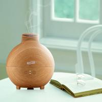 China 7 Color Changing LED Lights Ultrasonic Essential Oil Diffuser 600ml with Adjustable Mist Mode wholesale