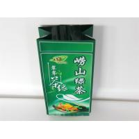 China Laminated Heat Seal Tea Packaging Bag Side Gusset Pouch Gravure Printing wholesale