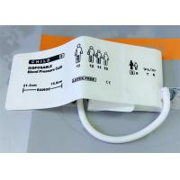 China Animal TPU Material Non Invasive Blood Pressure Cuff , Neonate3 Disposable NIBP CUFF wholesale