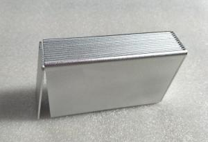 China Sandblasting Extruded 6063-T5 Aluminium Casing For Electronics wholesale