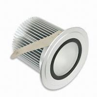China LED Ceiling Light with 5W Power, Radiator Made of Aluminum Alloy, Measures 94 x 69mm wholesale