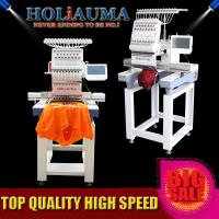 China HOLiAUMA single head computer embroidery machine cheaper than tajima embroidery machine price on sale