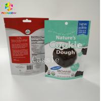 China Custom Printed Snack Packaging Bags Smell Proof Cookies Stand Up Pouch With Ziplock wholesale