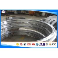 China 4130 / 1.7218 Forged Steel Rings Black / Smooth Surface Chrome Alloy Steel wholesale