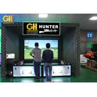 China 110V/220V Home Laser Shooting Simulator Hunting Hero Game Machine Customized Color wholesale