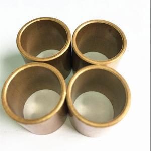 China Durable Slide Copper Bushing For Marine Gearbox / Flanged Brass Bimetal Bush wholesale