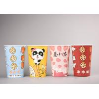 China To Go Paper Popcorn Buckets / Boxes , Cute Disposable Popcorn Containers wholesale
