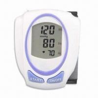 China Digital Blood Pressure, Comes in Wrist Type, with Fully Automatic Function and Extra Large Display wholesale
