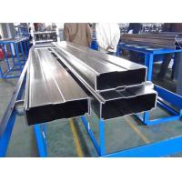 China Galvanized Steel Box Beam Rack Roll Forming Machine 8-10m / Min With 15 Stations wholesale