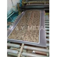 China 304 8k etching finish stainless steel sheet on sale