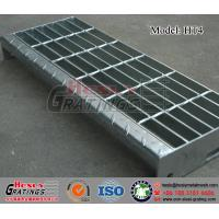 China HT4 Steel Grating Stair Tread with Nosing Plate wholesale