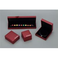 Plastic Struction  Jewelry Display Box Set In Recycled Leatherette Paper