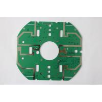 China RoHS Double Copper Multilayer Custom PCB Boards With Green Solder Mask wholesale