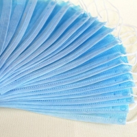 China Breathable Non Woven Anti Smog Earloop 3 Ply Face Mask wholesale