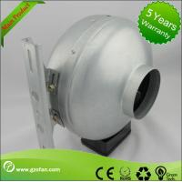 China Corrosion Resistance Plastic Shell Inline Circular Duct Fan For Hydroponic Plants wholesale