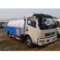 China Dongfeng 4x2 Small Tanker Truck Trailer 5000L High Pressure Sewer Pump Truck wholesale