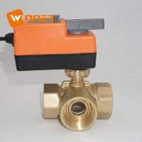 China 220VAC ON/OFF 3 Way 2 Inches DN50 Electric Control Ball Valve on sale