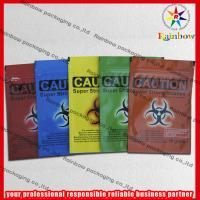 China Recyclable Colorful Herbal Incense Bags Ziplock Gravure Printing wholesale