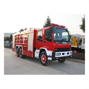 China 10,000L Isuzu FVZ Emergency Rescue Fire Fighting Truck wholesale