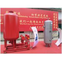 China 0.6 MPa Pressure Diaphragm Pressure Tank Galvanized Stainless Steel High Volume wholesale