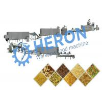 China High Efficiency Corn Chip Production Line , Corn Chip Processing Equipment Low Noise on sale