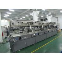China Round Surface Screen Print Machine 4000Pcs / Hr With Visual Detection wholesale