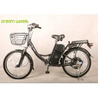 China 24 Inch nice Pedal Assist Electric Bike , lady and child style with two seats wholesale