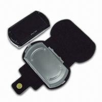 China High-quality Leatherette Carrying Bag with Stand, Suitable for PSP Go Console wholesale
