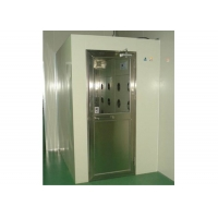 China Powder Coating Steel 25m/s Cleanroom Air Shower With Fan wholesale