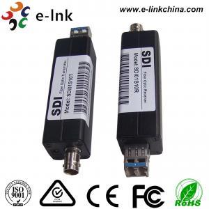 China 1 Channel Mini Type 3G SDI To Fiber Optic Converter 270Mbit/S - 1.48Gbit/S - 3Gbit/S wholesale