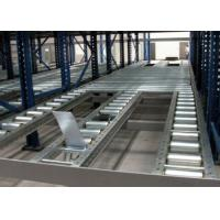 China Steel roll conventional stacking Gravity Live Pallet Rack wholesale