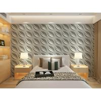 China Contemporary Interior 3D Textured Wall Panels Home or Commercial Decoration Wallpaper wholesale