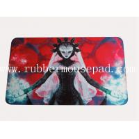 China Hot Card Game Rubber Play Mat , Square Sexy Anime Mouse Pad on sale