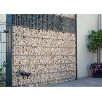 China 75x75MM Opening Welded Wire Gabions Mesh For Garden Decoration Wall wholesale