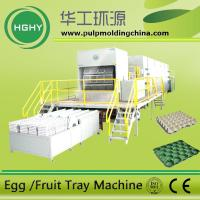 China pulp molding egg tray machine waste paper pulp molding machine on sale