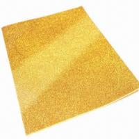 China EVA Glitter Sheets in Various Sizes, Suitable for School Activities/Kids