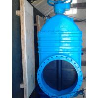 China Blue Large Bore Resilient Seated Gate Valves Over 600mm BS Standard wholesale