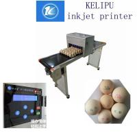 China Maintenance - Free Egg Automatic Batch Coding Machine For Logo / Pattern wholesale