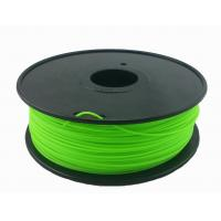 Quality Customization 3.0mm Green 3D Printing Filament For 3D Printer Toughness for sale