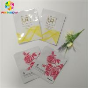 China Aluminum Foil Sachet Plastic Cosmetic Bags For Facial Mask / Eyelash Packing wholesale