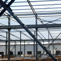China Fabricated Light Type Q235 Q345 Pre Built Metal Buildings Prefabricated Steel Structure wholesale