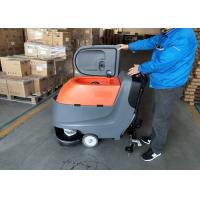 China Hand Push Automatic Walk Behind Floor Scrubber Not Cleaning Robot wholesale
